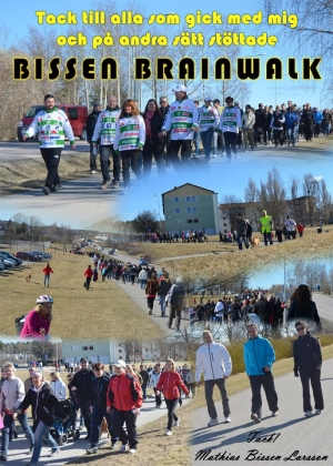 Bissen Brainwalk 2012 collage